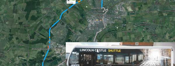 The new fleet of Lincoln park & ride buses will launch on April 1.