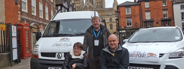 The DialaRide transport service is benefitting from two brand new vehicles.