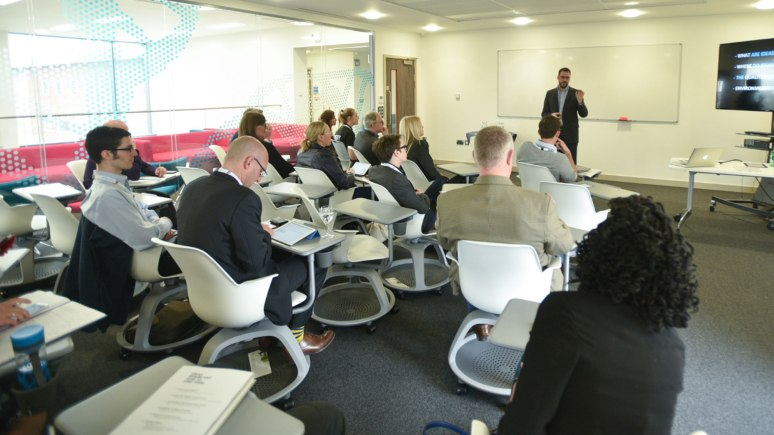 Workshops held at the Doing it Differently conference. Photo: Steve Smailes for The Lincolnite