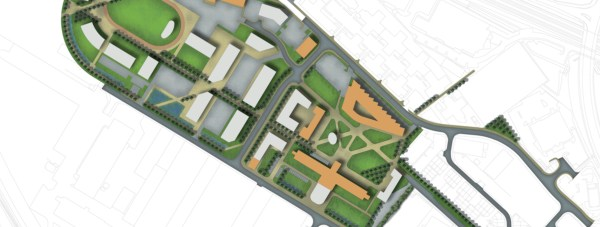 The Lincoln Science and Innovation Park phases one and two masterplan.