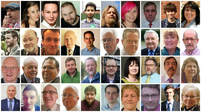See who's standing in your ward this local election.