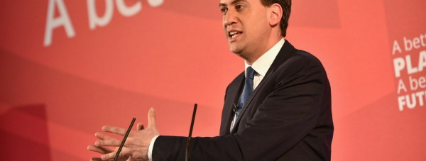 Labour leader Ed Miliband. Photo: Steve Smailes for The Lincolnite
