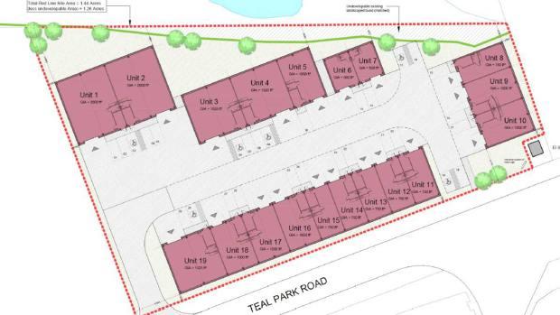 Teal Park development plans