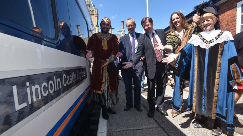 The improved Castle Line service will begin on May 18. Photo: Steve Smailes for The Lincolnite