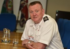 Lincolnshire Fire and Rescue's Chief Fire Officer, Dave Ramscar. Photo: Steve Smailes for The Lincolnite