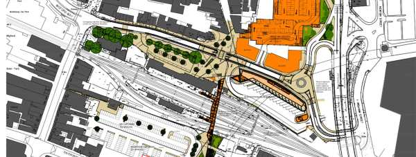 The plans for the Lincoln Transport Hub