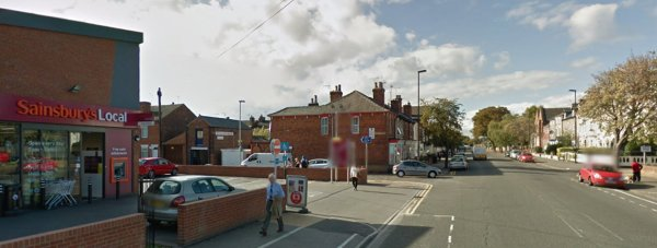 Sainsbury's Local on Carholme Road. Photo: Google Street View