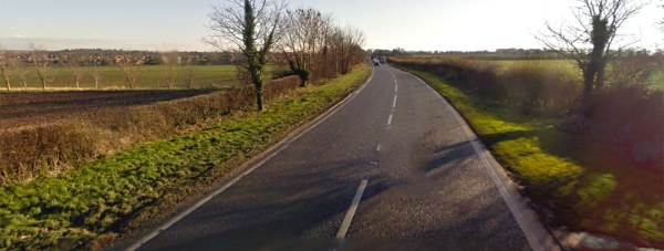 The teenager was pronounced dead at the scene on Sleaford Road near Metheringham.