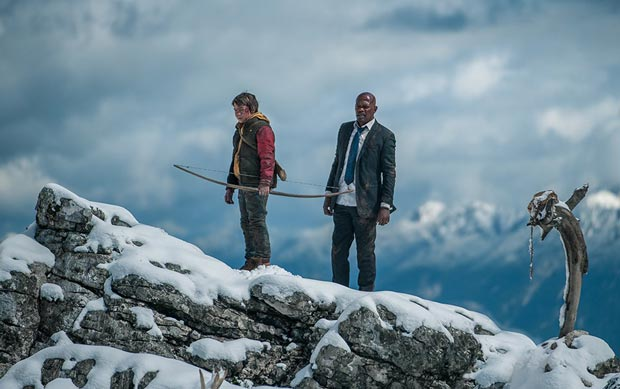 Samuel L. Jackson and Onni Tommila in Big Game (2015). Photo: Altitude Film Entertainment