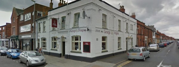 The George and Dragon pub on Lincoln High Street. Photo: Google Street View