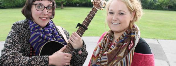 Marmaladies Hannah Mook and Lauren Davidson will perform at the revived Boultham Park Music and Arts Festival