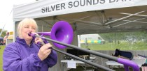 Silver Sounds performing at the festival. Photo: Linkage