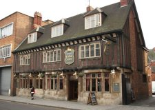 Ye Olde Crown in Lincoln was caught selling alcohol to an underage police volunteer. Photo: Richard Crift