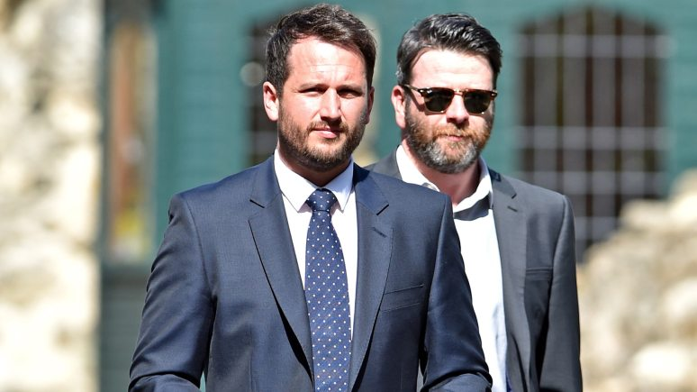 Adam Hill (left) was jailed for 15 months for dangerous driving at Lincoln Crown Court on July 20. Photo: John Aron