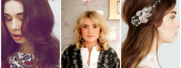 Hair and makeup artist Emily Kent (centre) is celebrating the launch of two new beauty ventures.