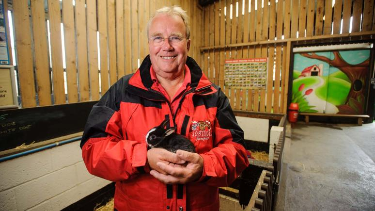 Richard Waring has turned his working farm into a family day out