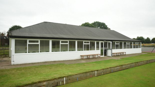 The refurbished sports pavilion at West Common. Photo: Steve Smailes for The Lincolnite