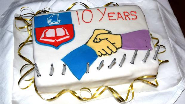 Ten years on, the relationship between the school and centre is still going strong.
