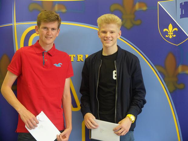 Jack Ashall (L) and Kyle Onyon (R)