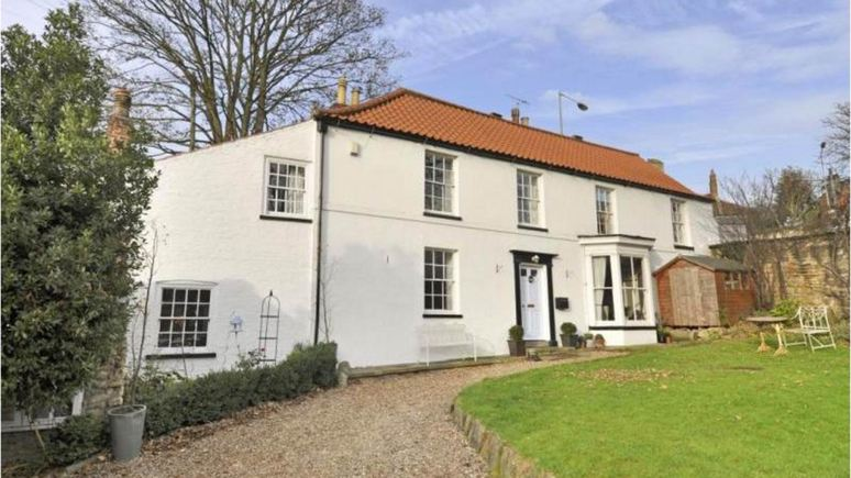 Pottergate Lodge has been put on the market