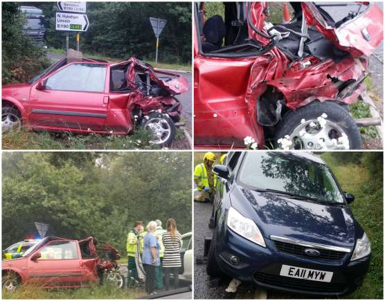 The crash in Lincoln on August 14