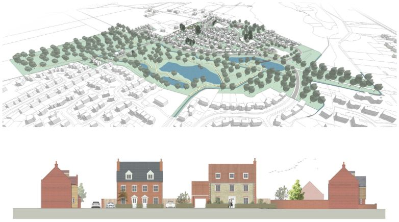The Parklands will include 130 new homes and amenities in the Lincoln village of Sudbrooke