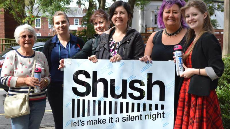 The annual Shush campaign has been launched again in Lincoln.