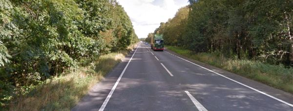 The collision happened on the A46 between the Skellingthorpe Road and Doddington Road Roundabouts. Photo: Google Street View