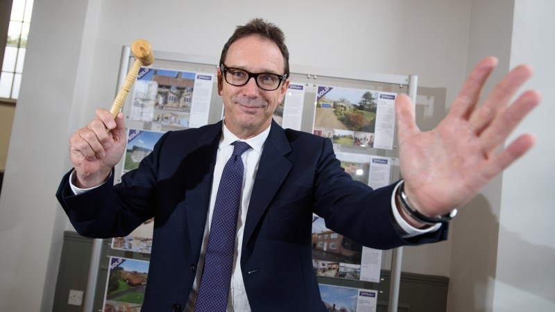 Ian Walter, Senior Partner at JHWalter was born to be an auctioneer. Photo: Steve Smailes