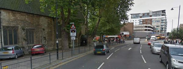The attack happened on St Mary's Street in Lincoln. Photo: Google Street View.