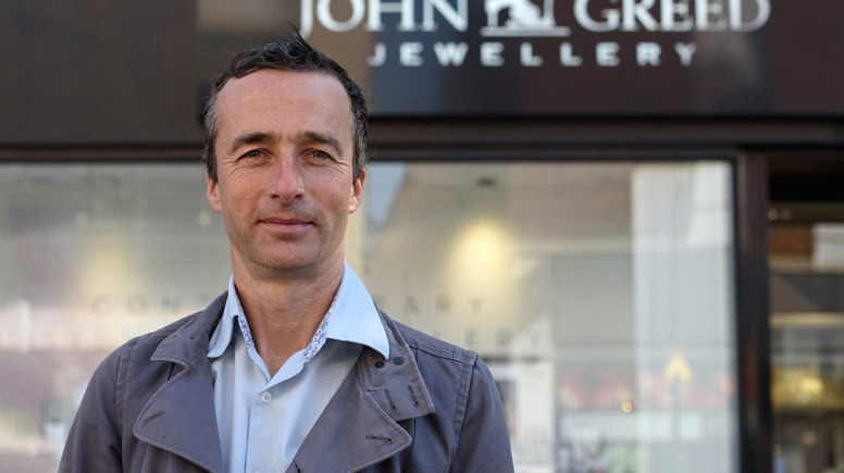 John Greed. Photo: Steve Smailes for Lincolnshire Business magazine