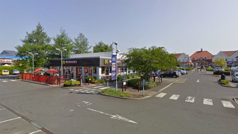 The McDonald's at Carlton Centre in Lincoln. Photo: Google Street View