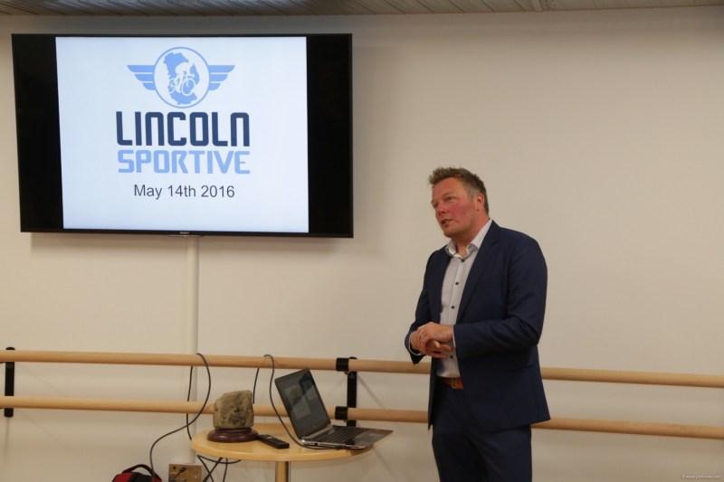 New organiser of the Lincoln Grand Prix Dan Ellmore