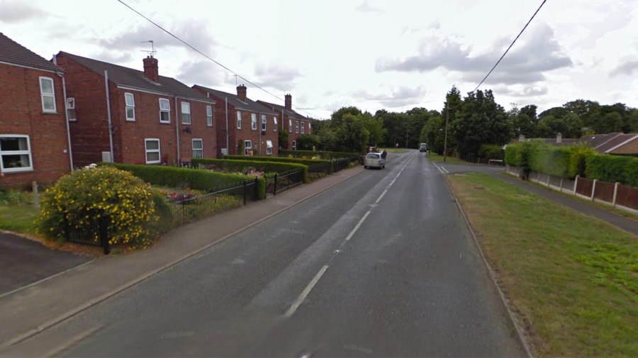 Station Road in Metheringham. Photo: Google Maps