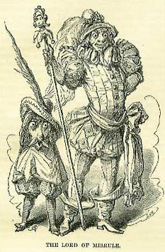 Illustration of the 'lord of misrule'