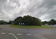 Nettleham roundabout heading south towards Lincoln. Photo: Google Street View