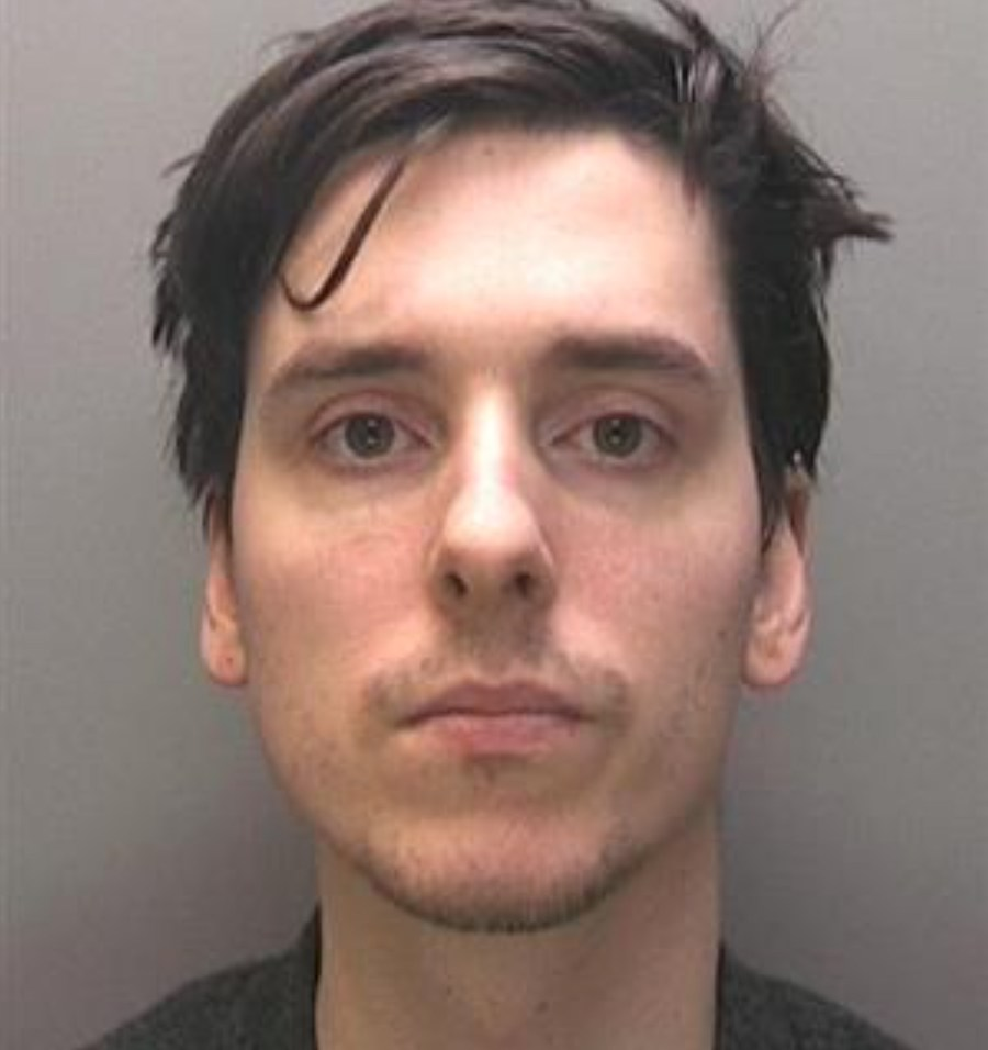 26-year-old David Peter Seath from Lincoln received a five year custodial sentence. Photo: Lincolnshire Police