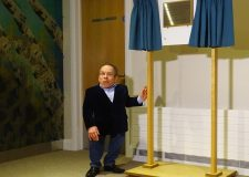 Warwick Davies officially opened the county's first Hospice within a Hospital.