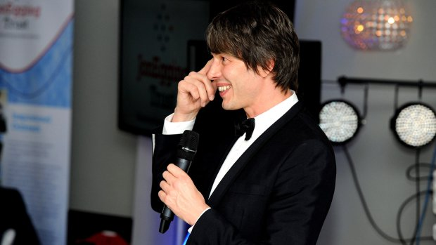 Professor Brian Cox. Photo: Stuart Wilde
