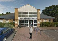 Crossroads Medical Practice in North Hykeham. Photo: Google Street View