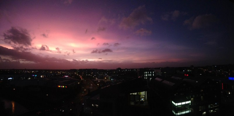 Taken from Junxion student accommodation in Lincoln. Photo: Mick Elliott