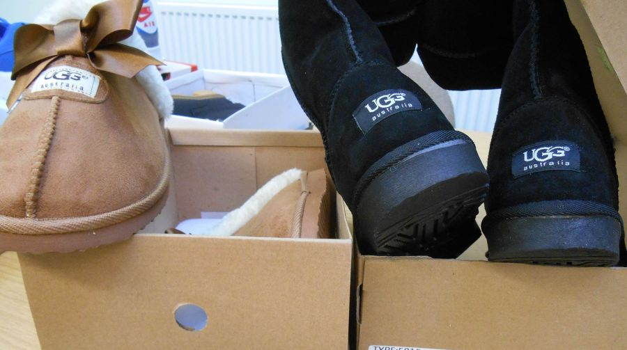 Fake goods seized from a previous raid. Photo: Lincolnshire Trading Standards