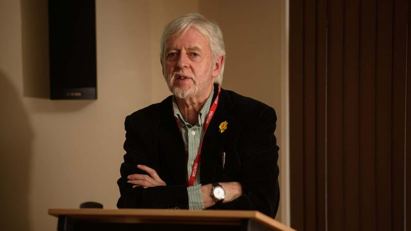 Dr Mick Jones, former city archaeologist and one of the authors of the book. Photo: Steve Smailes for The Lincolnite