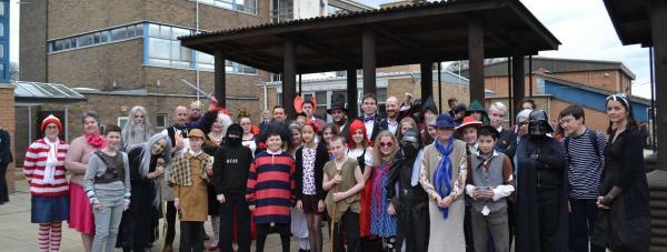 Pupils at Sir William Robertson Academy