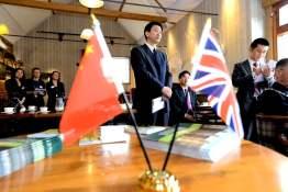 Zhenhong Cai, Vice Governor of Hunan Provincial People's Government. Photo: Stuart Wilde