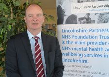 Dr John Brewin, Lincolnshire Partnership NHS Foundation Trust chief executive. Photo: Stefan Pidluznyj for The Lincolnite