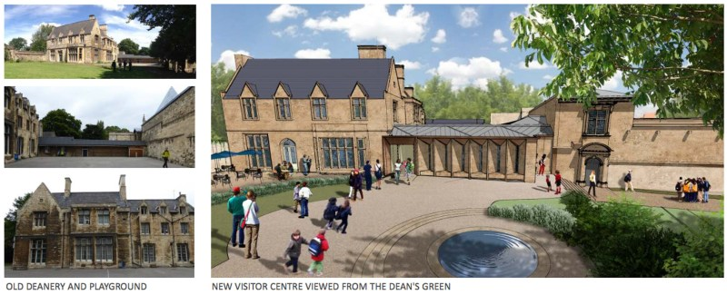 The Deanery will be transformed into a learning centre as part of the plans.