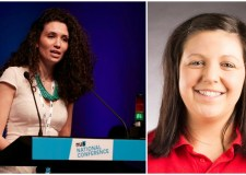 Criticisms have arisen over the appointment of new NUS president Malia Bouattia (L). ULSU president Hayley Jayne (R) has confirmed there will be a vote on affiliation.