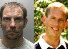 Audrius Zauka (left) was sentenced to life in jail for the murder of Sigitas Kirkickas (right). Photo: Lincolnshire Police