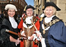 Yvonne Bodger is the 810th Mayor of Lincoln Photo: Steve Smailes for The Lincolnite